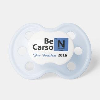 Ben Carson For President 2016 Pacifier