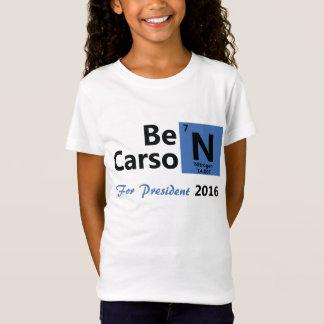Ben Carson For President 2016 T-Shirt
