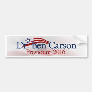 Ben Carson for President Bumper Sticker