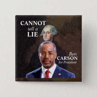 Ben Carson for President Button