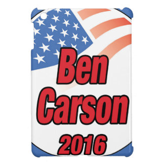 Ben Carson for president in 2016 Cover For The iPad Mini