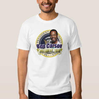 Ben Carson for President T Shirts