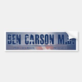 Ben Carson M D for President Bumper Stickers