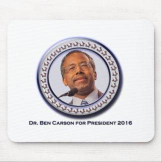 Ben Carson para el cojín del presidente ratón Mousepads