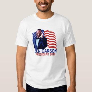 BEN CARSON PARA el PRESIDENTE 2016 camisetas Remeras