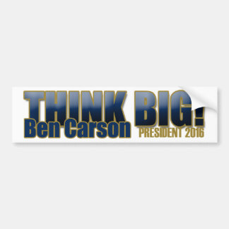 Ben Carson para el presidente Etiqueta De Parachoque