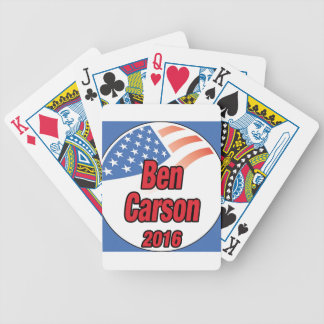 Ben Carson para el presidente en 2016 Cartas De Juego