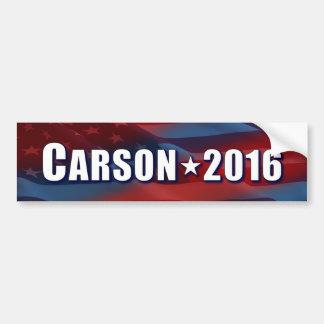 Ben Carson para el presidente Pegatina Para Auto