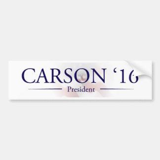 Ben Carson para el presidente pegatina para el Pegatina Para Coche