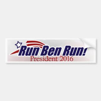 Ben Carson para el presidente pegatina para el par Pegatina Para Auto