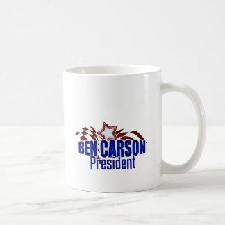 Ben Carson para presidente Modern Eagle Tazas