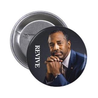 Ben Carson President 2016 REVIVE Pinback Button