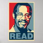 "Ben Carson ""Read"" Obama Parody Poster"