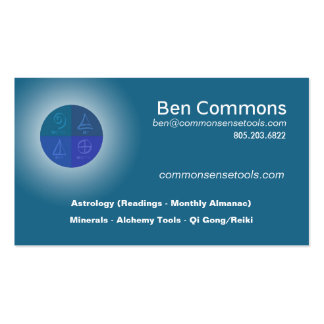 Ben Commons Business Card