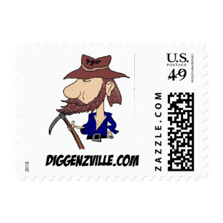 Ben Diggenz Stamp