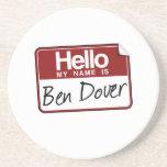 BEN DOVER BEVERAGE COASTERS