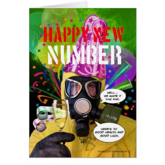 Ben Dover Happy New Number Card