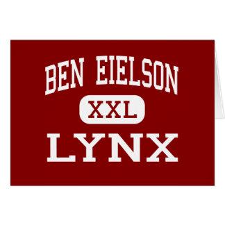 Ben Eielson - Lynx - Junior - Eielson AFB Alaska Greeting Card