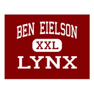 Ben Eielson - Lynx - Junior - Eielson AFB Alaska Postcard