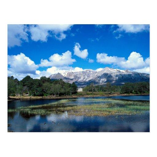 Ben Eishe y lago Coulin Torridon Postales