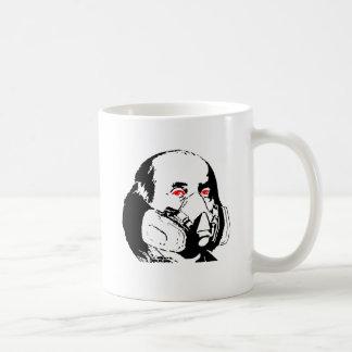 Ben Frank Classic White Coffee Mug