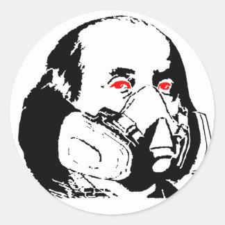 Ben Frank Classic Round Sticker
