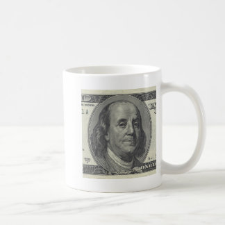 Ben Franklin $100 mug