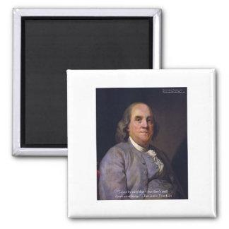 "Ben Franklin ""amor Thy Neibhbor pero."" Regalos de  Iman"