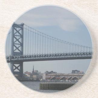 Ben Franklin Bridge Coaster