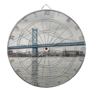 Ben Franklin Bridge Dartboard