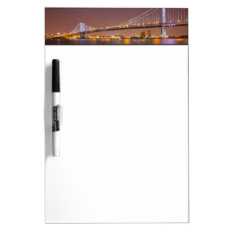 Ben Franklin Bridge Dry-Erase Board