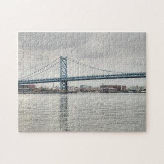 Ben Franklin Bridge Jigsaw Puzzle