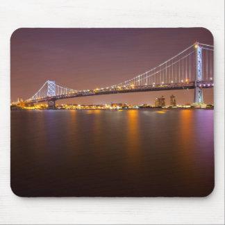 Ben Franklin Bridge Mouse Pad