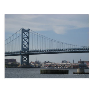 Ben Franklin Bridge Postcard