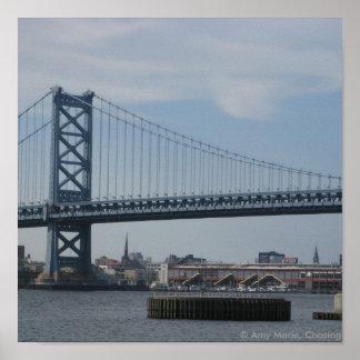 Ben Franklin Bridge Print