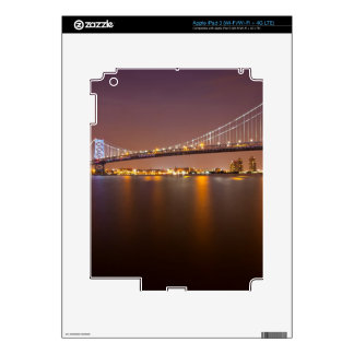 Ben Franklin Bridge Skins For iPad 3