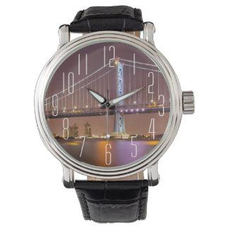 Ben Franklin Bridge Wristwatch