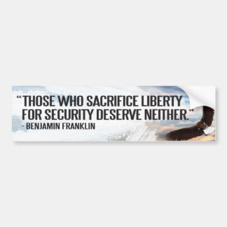 Ben Franklin Bumper Sticker