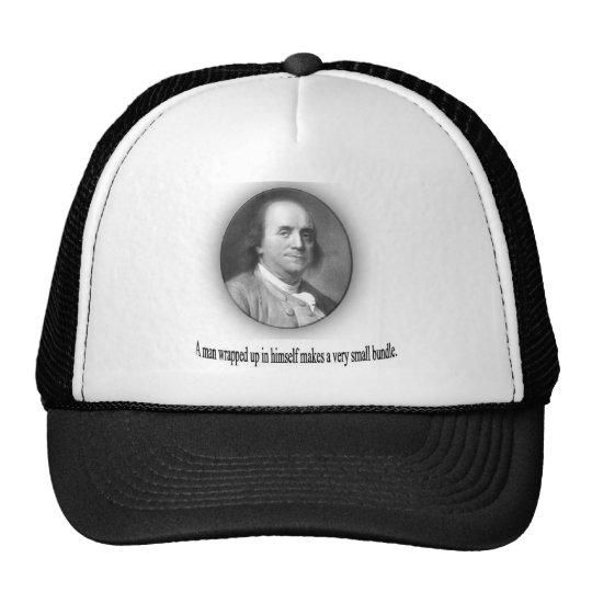Ben Franklin con cita Gorro