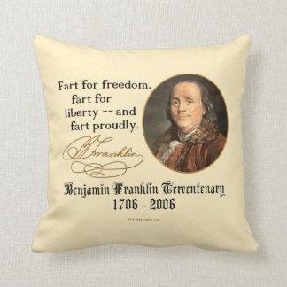 Ben Franklin - Fart orgulloso Cojines