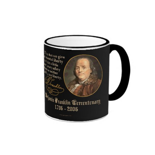 Ben Franklin - Liberty Ringer Coffee Mug