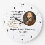 Ben Franklin - Liberty Wall Clocks