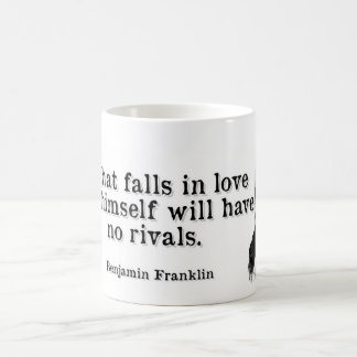 Ben Franklin- Love Coffee Mug