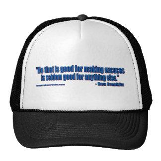 Ben Franklin - No excuses Trucker Hat