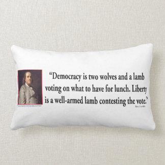 Ben Franklin On Gun Control Pillows
