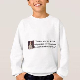 Ben Franklin On Gun Control Sweatshirt