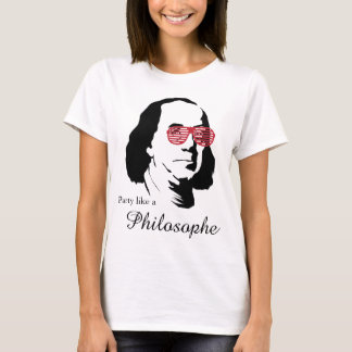Ben Franklin Philosophe t-shirt