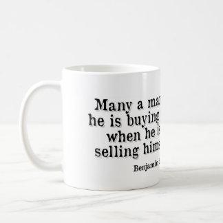 Ben Franklin- Pleasure Coffee Mug