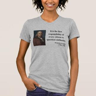 Ben Franklin Quote 3b Tee Shirt