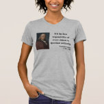 Ben Franklin Quote 3b Tee Shirts